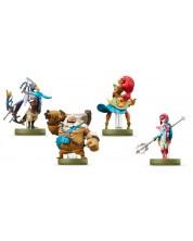 Nintendo Amiibo фигури - The Champions [ The Legend of Zelda: Breath of the Wild колекция]